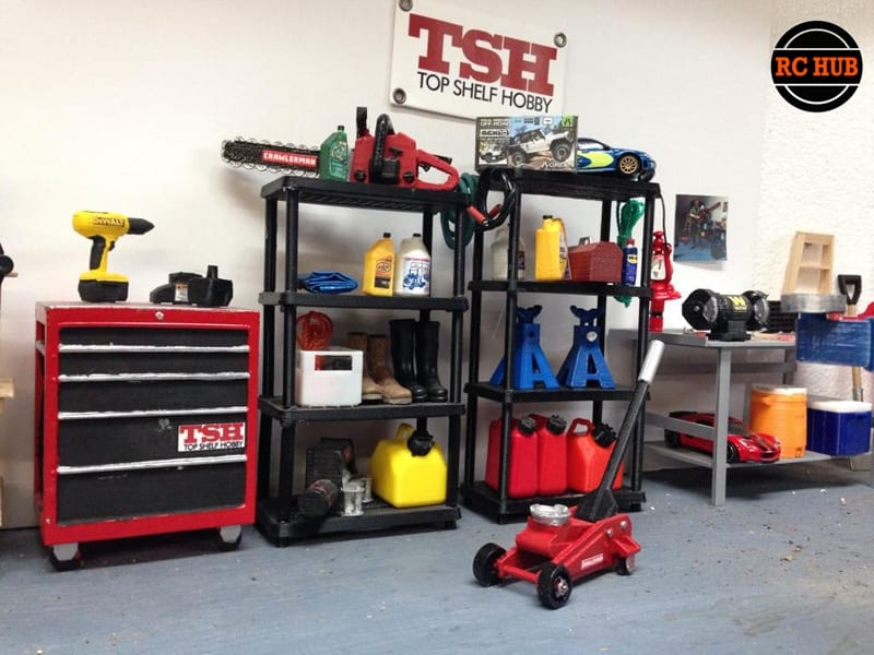 MAKE YOUR MINI ME GARAGE WITH SCALE ACCESSORIES FROM TSH