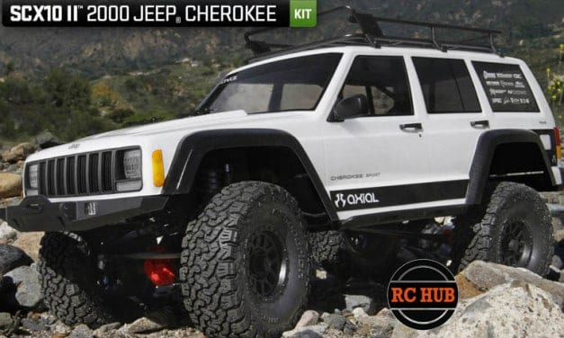 AXIAL'S 2000 JEEP CLIMBS TO THE TOP