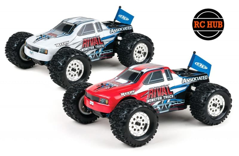 RIVAL WITH TEAM ASSOCIATED'S 1:18 MONSTER TRUCK