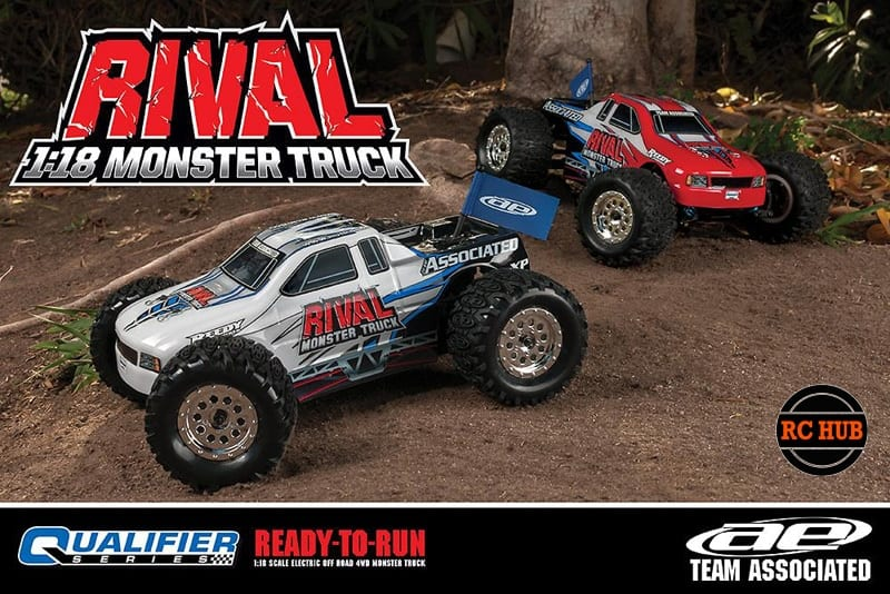 RC HUB TEAM ASSOCIATED RIVAL 18TH SCALE