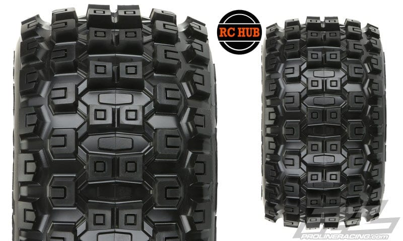 rc-hub-pro-line-badlands-mx38-3-8-traxxas-style-bead-all-terrain-tires-mounted
