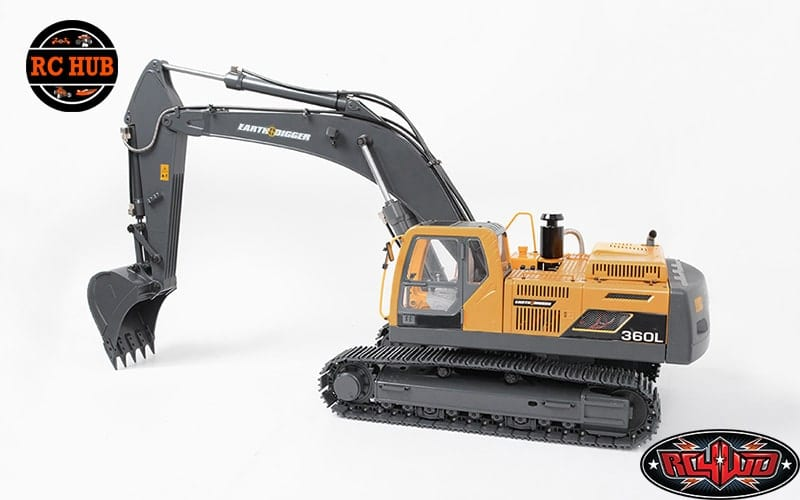 RC4WD IS DIGGIN SCALING STYLE