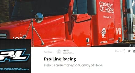 PRO-LINE AND CONVOY OF HOPE