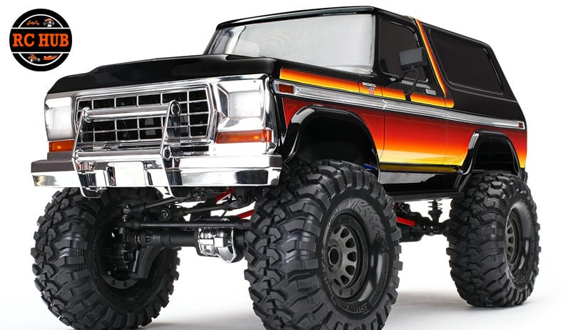 2018 TRX-4 OPTIONS AND BLING