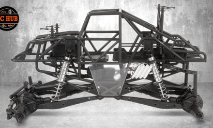 AXIAL'S 1/10 SMT10 Monster Truck Raw Builders Kit