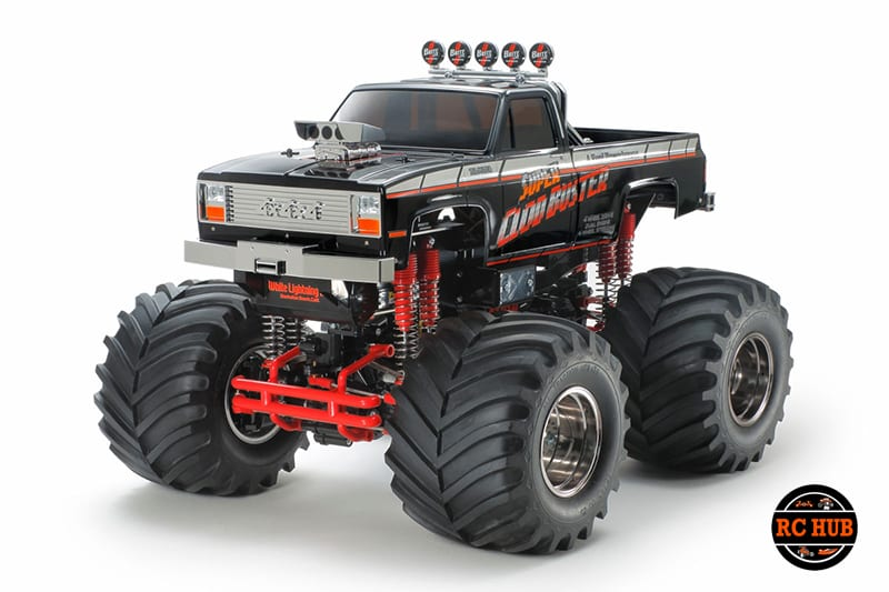 Tamiya 1/10 Super Clod Buster, Black Limited Edition