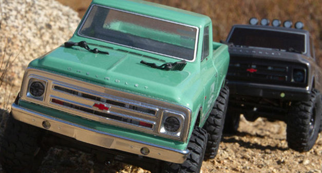Axial SCX24 1967 Chevrolet C10 4WD Truck Brushed RTR