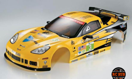 Corvette GT2 Finished Body