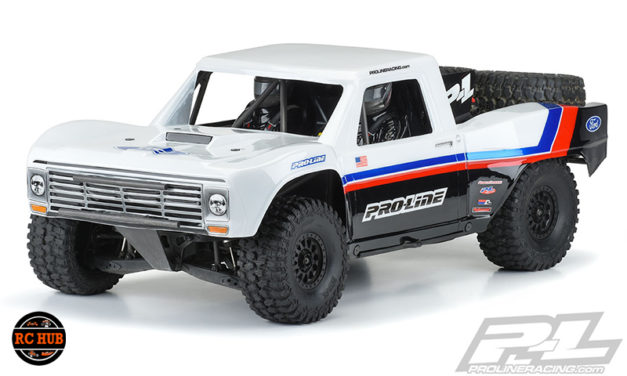 1967 Ford F-100 Race Truck Clear Body