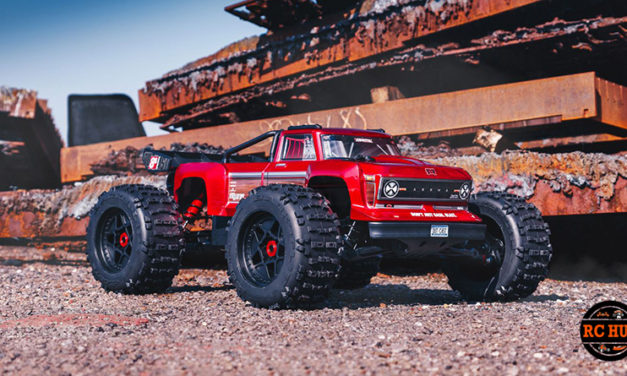 ARRMA1/5 OUTCAST 8S BLX 4WD Brushless Stunt Truck RTR