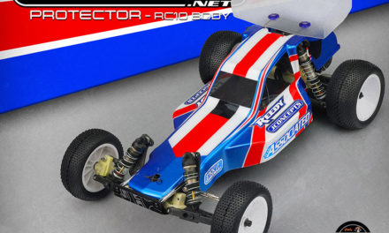 JConcepts Protector RC10 Body w/ 5.5″ Wing