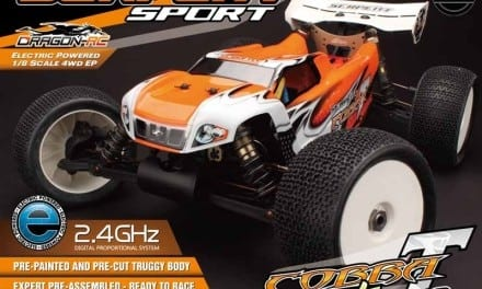 SERPENT IS SENDING IN THE COBRA TRUGGY-E RTR