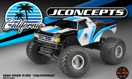 """JConcepts 1989 FORD F-150 """"CALIFORNIA"""" TRAXXAS STAMPEDE BODY"""