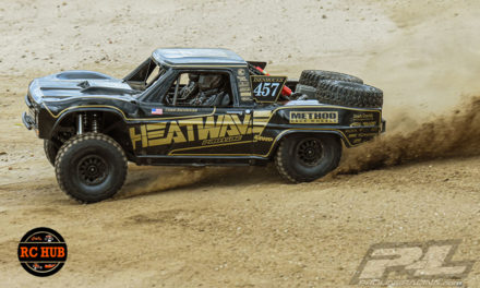 Pro-Line 1967 Ford F-100 Race Truck Heatwave Edition