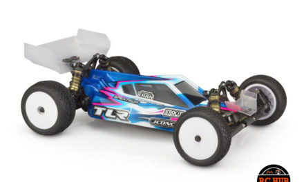 P2 – TLR 22 5.0 Elite Body w/ S-Type Wing